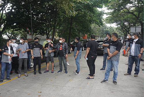 Gallery Foto Toyota Camry Club Indonesia Sunday Morning Ride